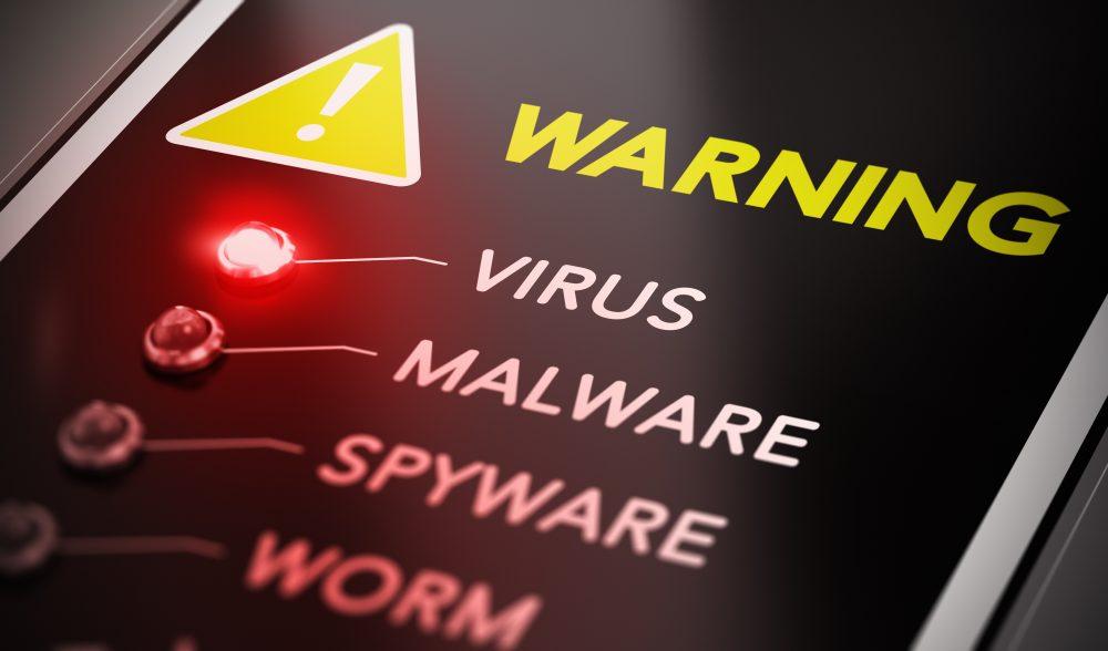 スマホがウイルス感染したと思ったら!ウイルス感染詐欺を疑う